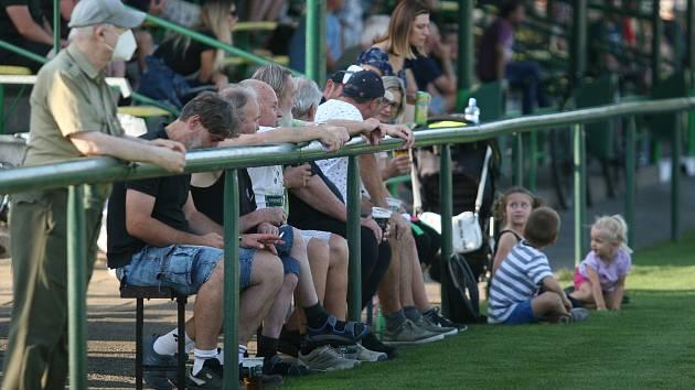 Fanoušci nechyběli na zápasech 6. hraného kola krajského přeboru.
