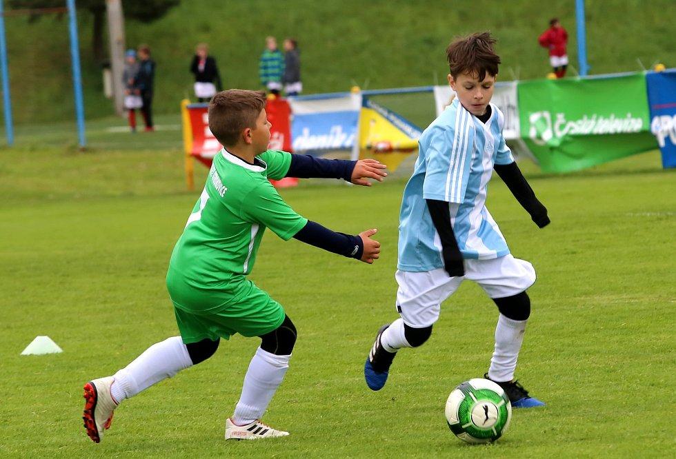 Fotbal Turnaj McDonald's Cup 2019 Krajské Finále Zlín. Zlín-Otrokovice