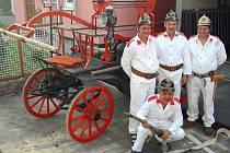 Dobrovolní hasiči z Újezda na Valaškokloboucku