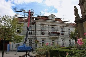 Rekonstrukce radnice ve Valašských Kloboukách