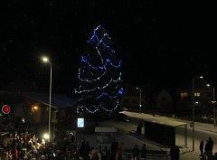 Vánoční strom Nedašova Lhota