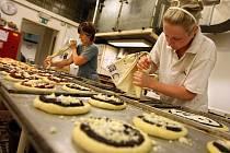 Provoz v pekárně Boner na zlínských Jižních Svazích