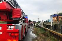 Ve Spytihněvi na Zlínsku hořela stanice bioplynu.