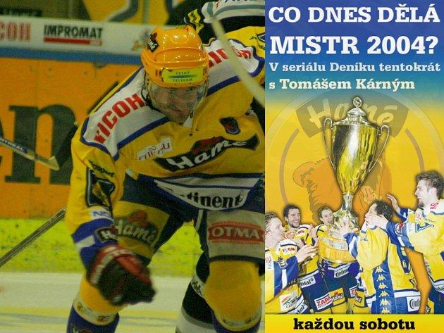 Seriál CO DNES DĚLAJÍ MISTŘI 2004 Tentokrát povídání s Tomášem Kárným.