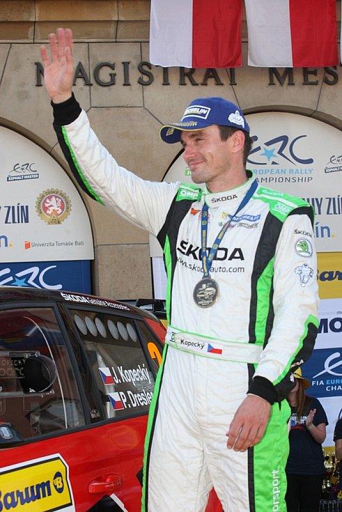 Barum Czech rally Zlín 2016. 1. místo J. Kopecký a P. Dresler