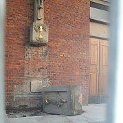 Místo tragédie u míškovického kostela