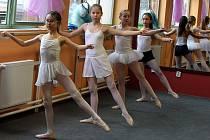 Baletní škola Ballerine ve Zlíně.