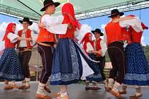 Dětský folklorní festival Kašava – Fryšták. Ilustrační foto