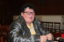 seniorka z Vlachovic Marie Surovcová