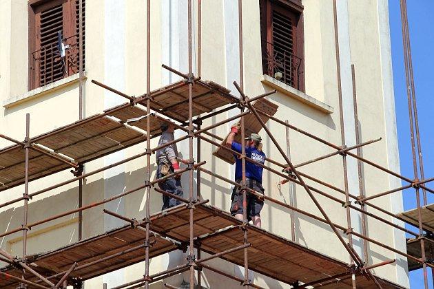 Oprava kostela Nanebevzetí Panny Marie ve Spytihněvi