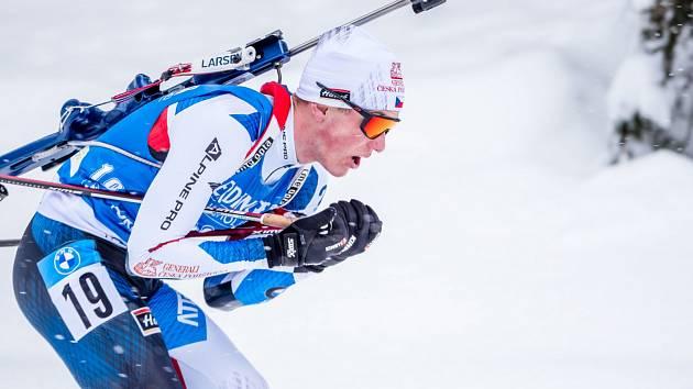 Jakub Štvrtecký na mistrovství světa v Pokljuce 2021