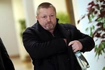 Pavel Čaniga u krajského soudu ve Zlíně.