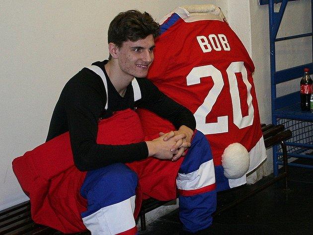 Na zápas Zlína s Brnem dorazili u Bob a Bobek, maskoti hokejového MS v Praze a Ostravě.