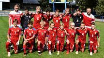 Fotbalové naděje ze Zlína a Slovácka se představily na reprezentačním kempu U15 v Břeclavi.