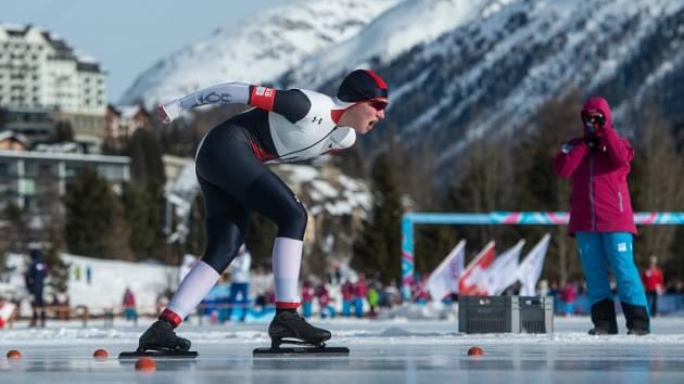 Stříbrná Zuzana Kuršová na Olympijských hrách mládeže