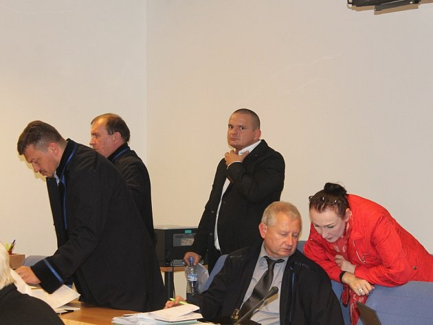Ex-policista Marian Hanák u soudu. Ilustrační foto