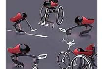 Originální vozík Trilobit z dílny zlínských studentů umožňuje handicapovaným i hrát sledge hokej.