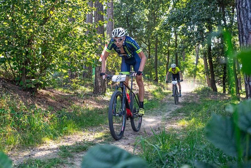 závod horských kol v Napajedlech 2021