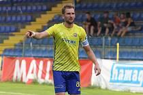 Kapitán fotbalistů Zlína Tomáš Poznar.