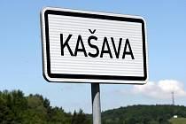 Obec Kašava.