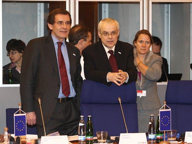 Zasedání ministrů v Luhačovicích - Vladimír Špidla, evropským komisař pro zaměstnanost, sociální věci a rovné příležitosti