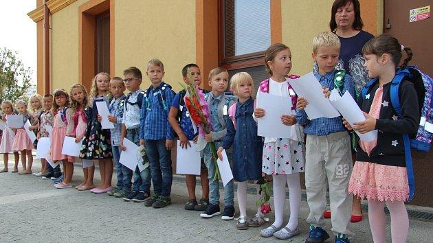 První školní den na Zlínsku - souhrnná fotogalerie z řady škol
