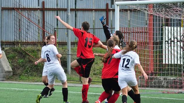 Fotbalová divize žen Brumov - Uherský Brod 5:0