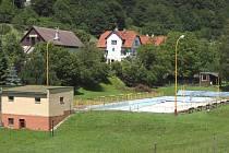 Koupaliště v Jasenné je již tři roky zavřené.