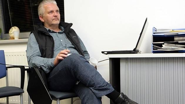 Volební štáb ODS ve Zlíně.