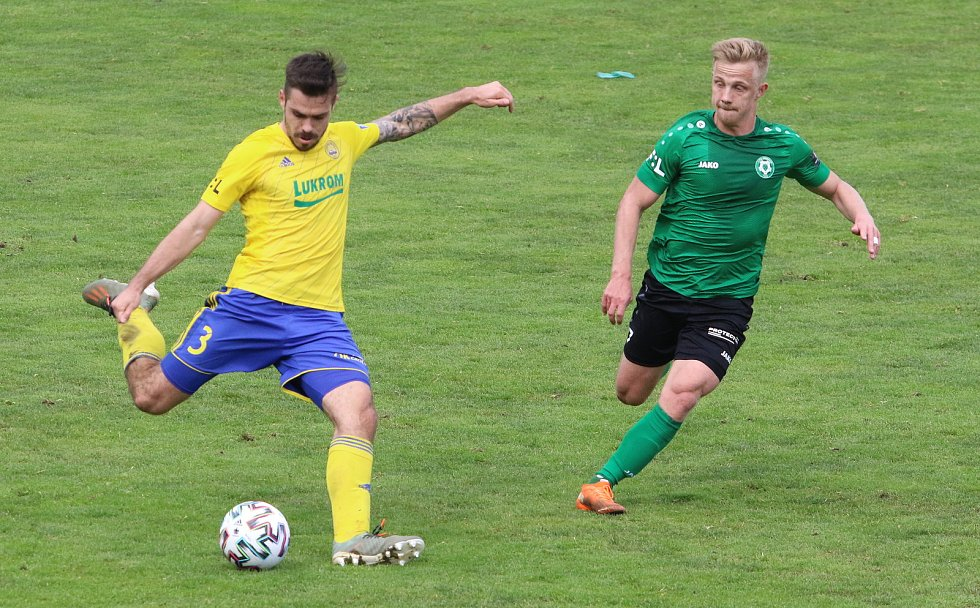 Fotbalisté Zlína ve 27. kole FORTUNA:LIGY podlehli Příbrami 0:1. Foto: Jan Zahnaš
