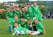 Fotbal McDonlads Cup. Krajské kolo Vršava Zlín. ZŠ Trávníky Otrokovice starší