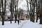 Místo ve Zlíně , kde stával starý hřbitov .