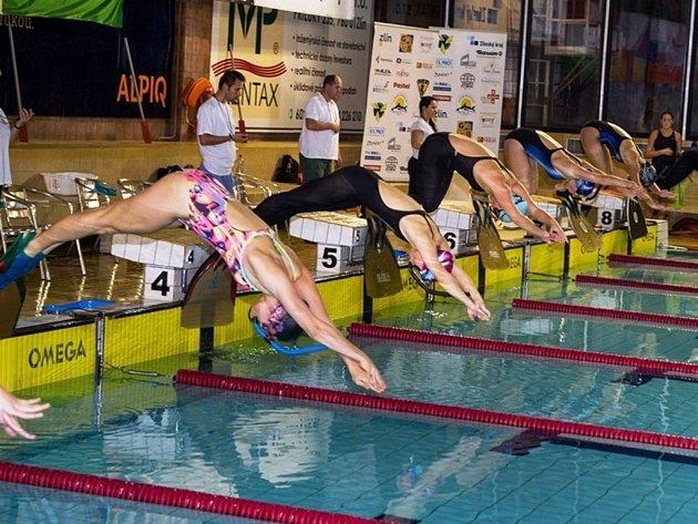 Ploutvové plavání. Ilustrační foto