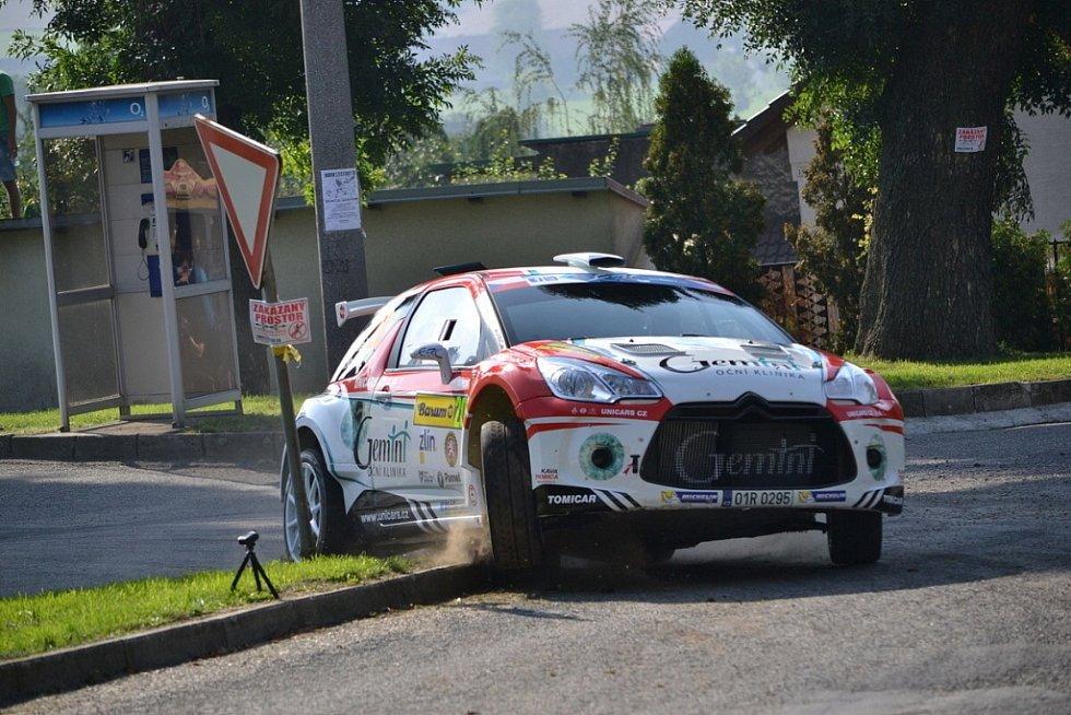 Shakedown - Kvalifikace před startem Barum Czech Rally 2015.