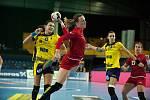 Spojka Helena Ryšánková s patří k oporám ženského národního týmu. S družstvem absolvovala jak loňské mistrovství světa v Německu, tak i EURO 2016 ve Švédsku.