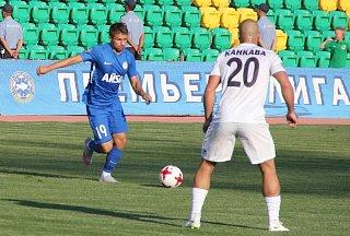 Bosenský záložník Mirzad Mehanović ze Zlína hostuje v kazašském  týmu Ordabasy Šympkent.