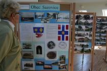 V Sazovicích ukazují prezentaci, kterou ukázali i hodnotící komisi na soutěži Vesnice roku 2009