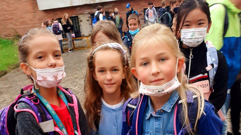 První školní den ve školách na Zlínsku, 1. září 2021
