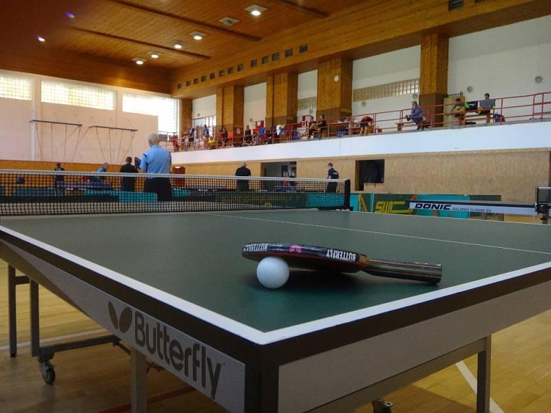 Stolně tenisový turnaj ve Slavičíně 2021