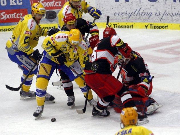 Play off hokej PSG Zlín – Mounfield Hradec Králové