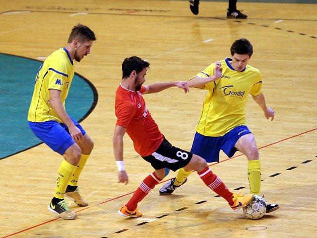 UTB futsal team Zlín - FK ERA - PACK Chrudim
