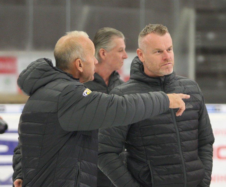 Předsezonní focení extraligových hokejistů PSG Berani Zlín.