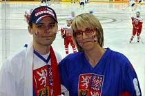 MS 2015 - Ivana Hlůšková s manželem