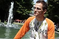 Student zlínské univerzity Jan Otruba
