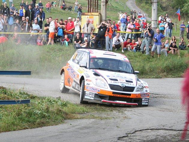 Antonín Tlusťák, zádveřický pilot a účastník ME v rallye.