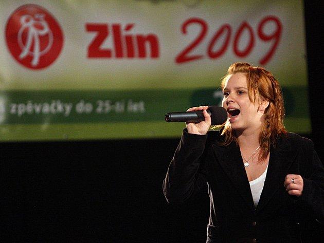 O postup do finále Czechtalentu bojovala také Veronika Gondeková ze Zubří.