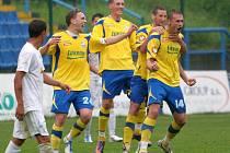 Radost fotbalistů Zlína