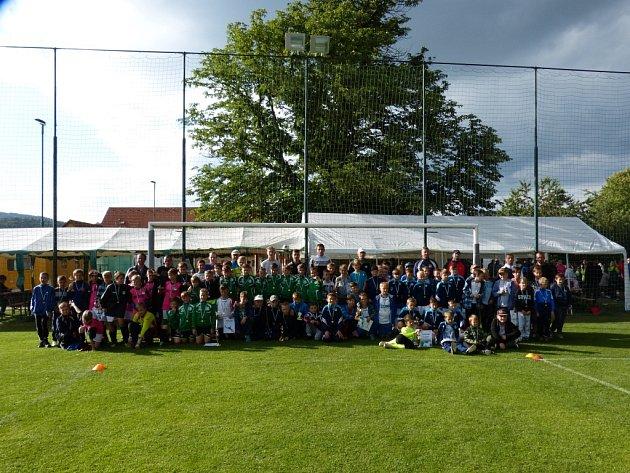 Fotbalový turnaj přípravek Vysoké Pole