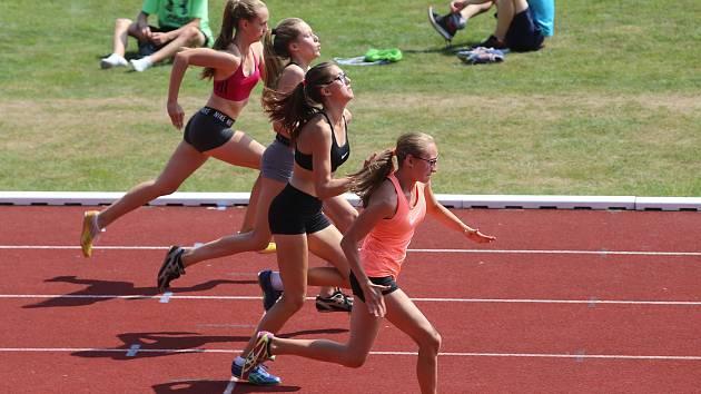 Odznak Všestrannosti Olympijských Vítězů krajské kolo na atletickém stadionu TJ JiskraSprint 60 m