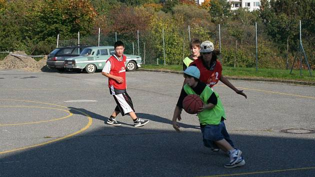 Turnaj ve streetballu uspořádal Salesiánský klub mládeže ve Zlíně